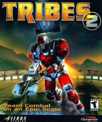 Tribes 2 - Image: Tribes 2 cover