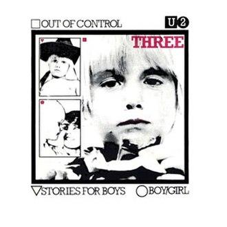 Three (U2 EP) - Image: U2three