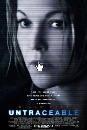 Untraceable - Theatrical release poster