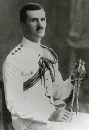 172nd Tunnelling Company - Captain William Henry Johnston VC, who commanded 172nd Tunnelling Company in early 1915