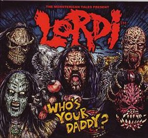 Who's Your Daddy? (Lordi song) - Image: WYD cover
