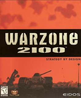 Warzone 2100 video game
