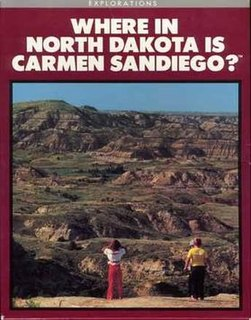 <i>Where in North Dakota Is Carmen Sandiego?</i> 1989 video game