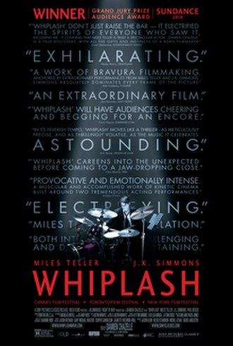 Whiplash (2014 film) - Theatrical release poster