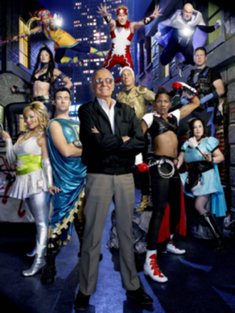 Who Wants to Be a Superhero? - Stan Lee and the contestants of Season 2