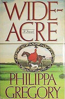 <i>Wideacre</i> book by Philippa Gregory
