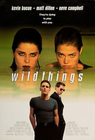Wild Things (film) - Theatrical release poster