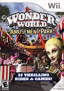 wonderworld amusement park nds