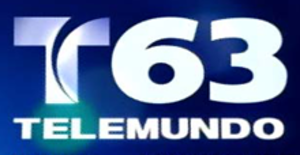 "WYTU-LD - WYTU's ""Telemundo 63"" logo before the addition of multiple simulcasts on WMLW-DT4 and in South Bend and Rockford."