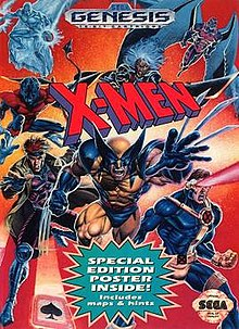 X-Men (1993 Sega video game cover).jpg