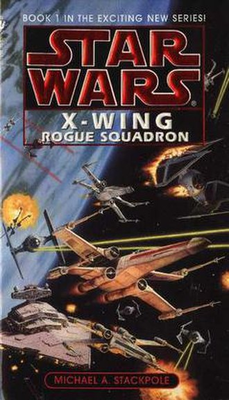 Star Wars: X-wing (book series) - Image: XW Rogue Squadron 1