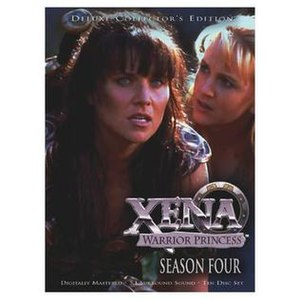 Xena: Warrior Princess (season 4) - Season 4 DVD cover