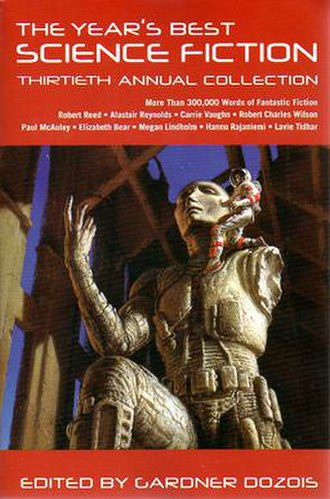 The Year's Best Science Fiction: Thirtieth Annual Collection - Image: Years best SF cover 30