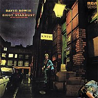 The Rise and Fall of Ziggy Stardust  and the Spiders from Mars cover