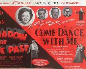 Come Dance with Me (1950 film) - British trade ad