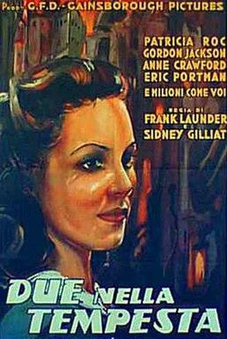 Millions Like Us - Italian theatrical poster