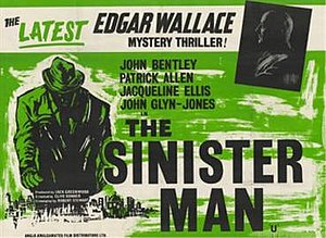 "The Sinister Man - Image: ""The Sinister Man"" (1961)"