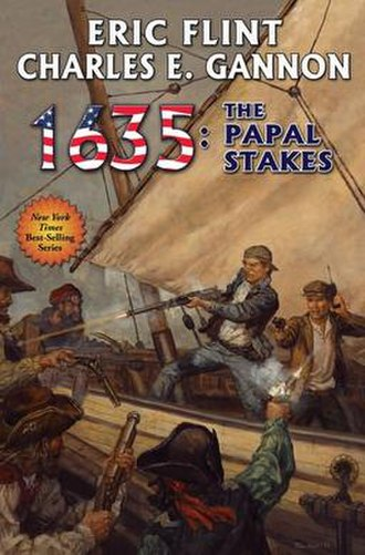 1635: The Papal Stakes - Image: 1635 The Papal Stakes book cover