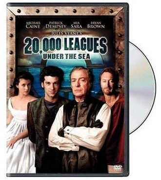 20,000 Leagues Under the Sea (1997 Village Roadshow film) - DVD Cover
