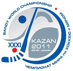 2011 Bandy World Championship - Image: 2011 Bandy World Championship logo