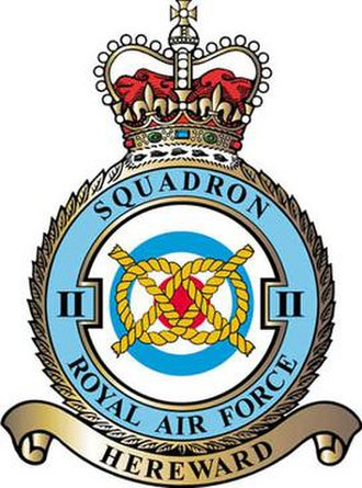 No. 2 Squadron RAF - 2 Squadron badge