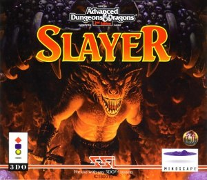 Advanced Dungeons & Dragons: Slayer - Cover art of Slayer