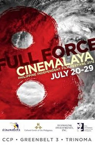 8th Cinemalaya Independent Film Festival - Official poster