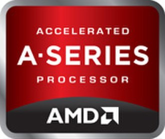 AMD Accelerated Processing Unit - Image: AMD A series logo