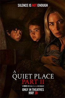 <i>A Quiet Place Part II</i> 2020 American horror film directed by John Krasinski