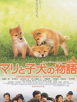 A Tale of Mari and Three Puppies - Film poster