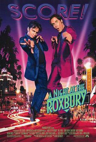 A Night at the Roxbury - Theatrical release poster