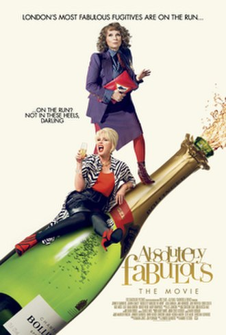 Absolutely Fabulous: The Movie - Theatrical release poster