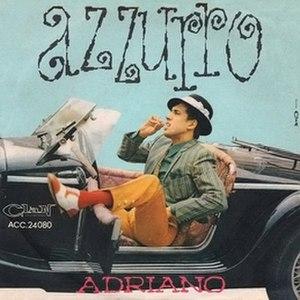 Azzurro - Image: Adriano celentano azzurro Vinile lp 2