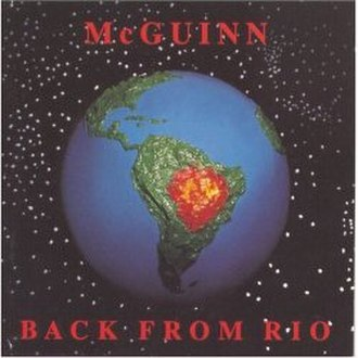 Back from Rio - Image: Album Back from Rio cover