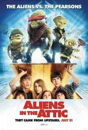 Aliens in the Attic - Theatrical release poster
