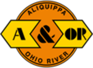 Aliquippa and Ohio River Railroad - Image: Aliquippa and Ohio River Railroad logo