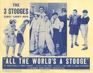 <i>All the Worlds a Stooge</i> 1941 film by Del Lord