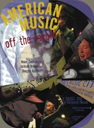 American Music: Off the Record - Image: American Music Off the Record