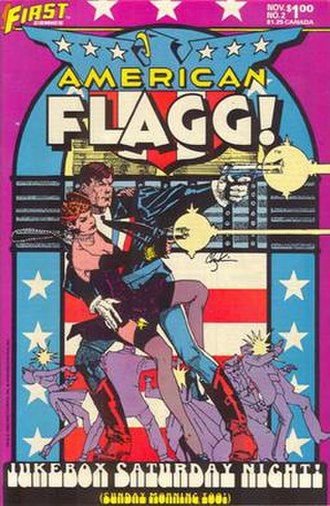 Howard Chaykin - Image: American flagg 2