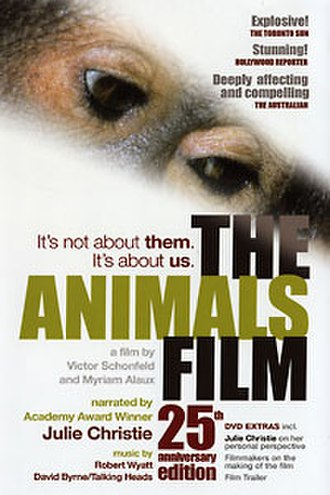 The Animals Film - 25th Anniversary Edition DVD cover