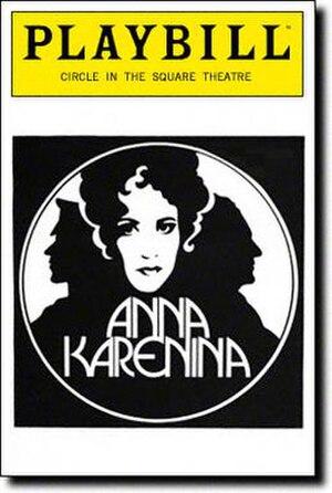Anna Karenina (musical) - 1992 Broadway Playbill