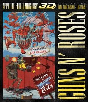 Appetite for Democracy 3D - Image: Appetite for destruction 3d