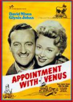 Appointment with Venus (film) - Theatrical release poster