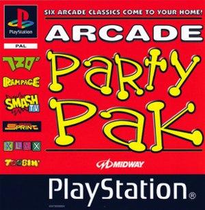 Arcade Party Pak - Image: Arcade Party Pak