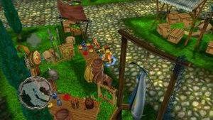 Arkadian Warriors - Typical gameplay screenshot.