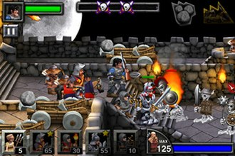 Army of Darkness: Defense - The tower defense game requires players to defend an area from oncoming waves of attacking enemies.