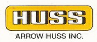 Arrow Dynamics - Arrow Huss logo (1981–1985)