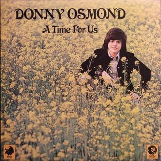 A Time for Us (Donny Osmond album) - Image: Atimeforus 1973