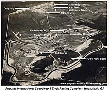 Augusta International Raceway layout