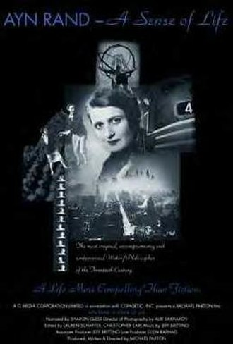 Ayn Rand: A Sense of Life - Original film poster